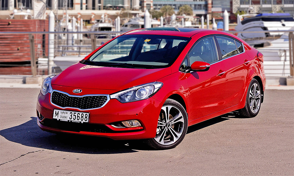 Kia объявила российские цены на Cerato