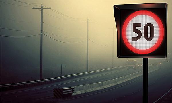 В Москве установят светящиеся дорожные знаки