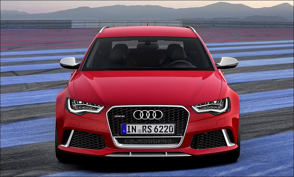 Audi RS6 Avant: универсал с характером болида