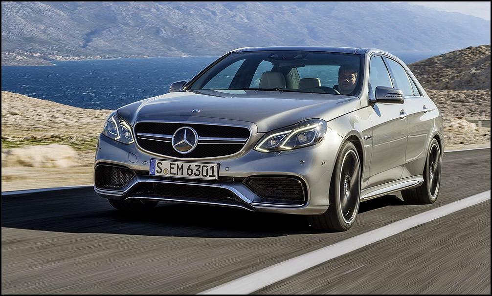 На секунду лучший: Mercedes E63 AMG оказался быстрее конкурентов