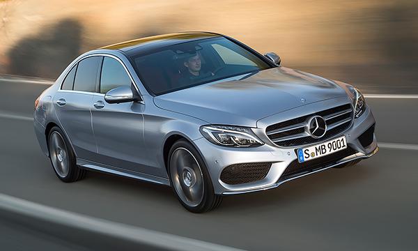 Mercedes привез в Росcию полноприводный седан С-Class