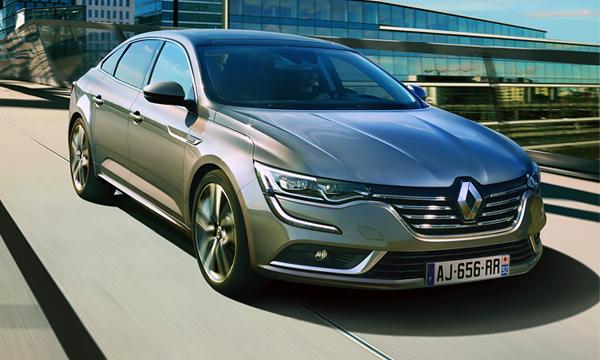 Renault представил новый флагманский седан Talisman