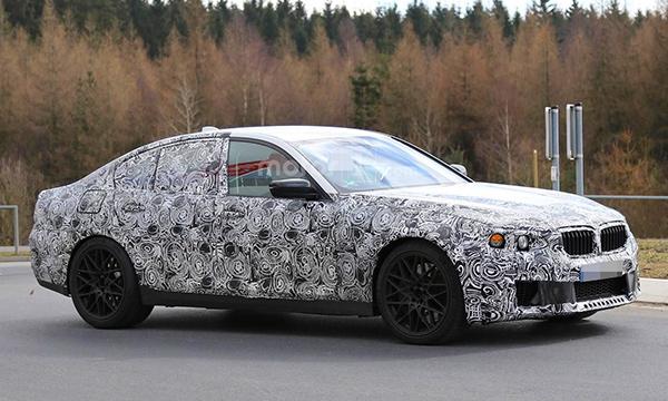 Новая BMW M5 получит 626-сильный мотор