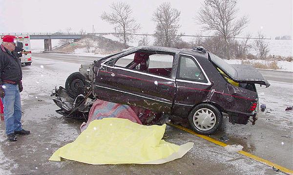 Снежные бури в США привели к смерти 36 человек в ДТП