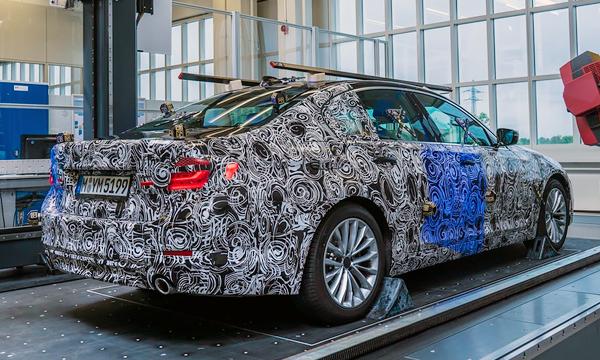 Опубликованы первые изображения седана BMW 5-Series нового поколения