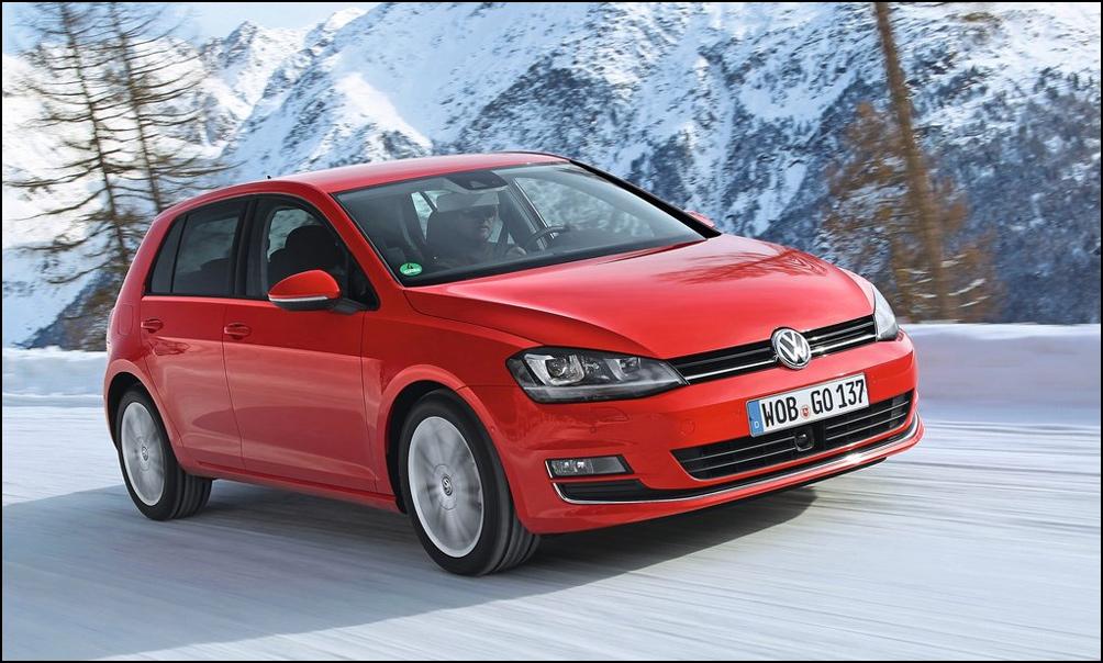 У седьмого Volkswagen Golf закрутились четыре колеса