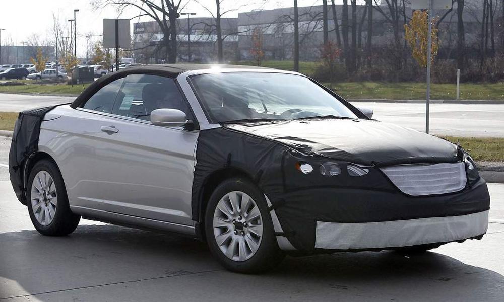 Новый Chrysler 200 станет кабриолетом