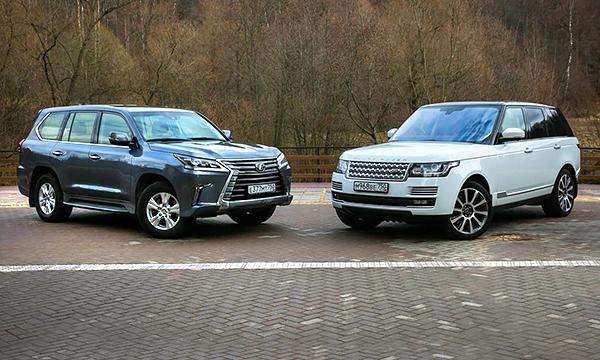 Убедительная «восьмерка». Тест-драйв Lexus LX и Range Rover