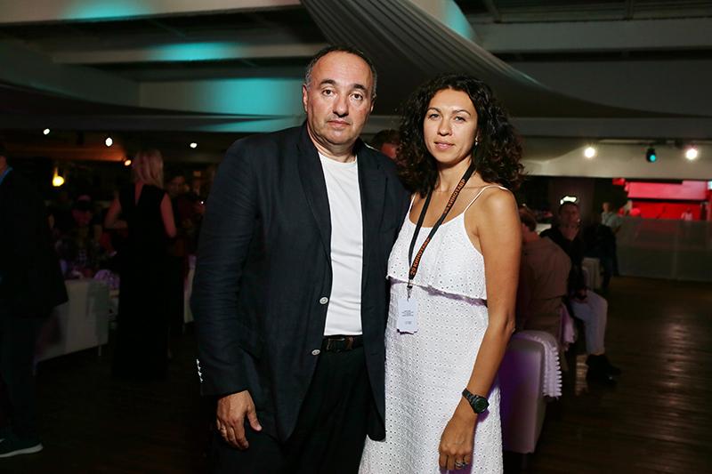 Александр Роднянский и Софья Капкова
