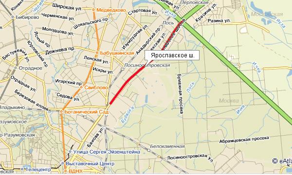 Началось проектирование дублера Ярославского шоссе