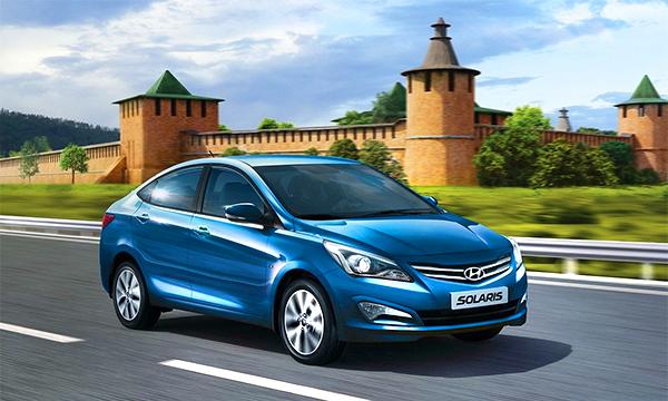 Lada Granta уступила первое место Hyundai Solaris в топ-10 самых продаваемых автомобилей