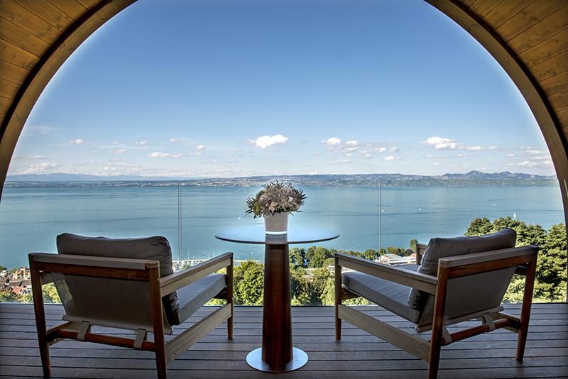 Террасасьюта Président Exclusive, Hotel Royal, Evian Resort