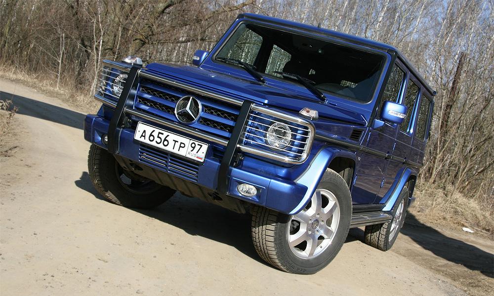 Внедорожная классика от Mercedes стоит 5 миллионов