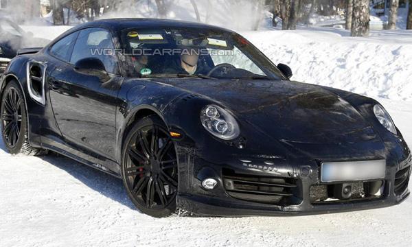 Шпионы засекли новый Porsche 911 Turbo