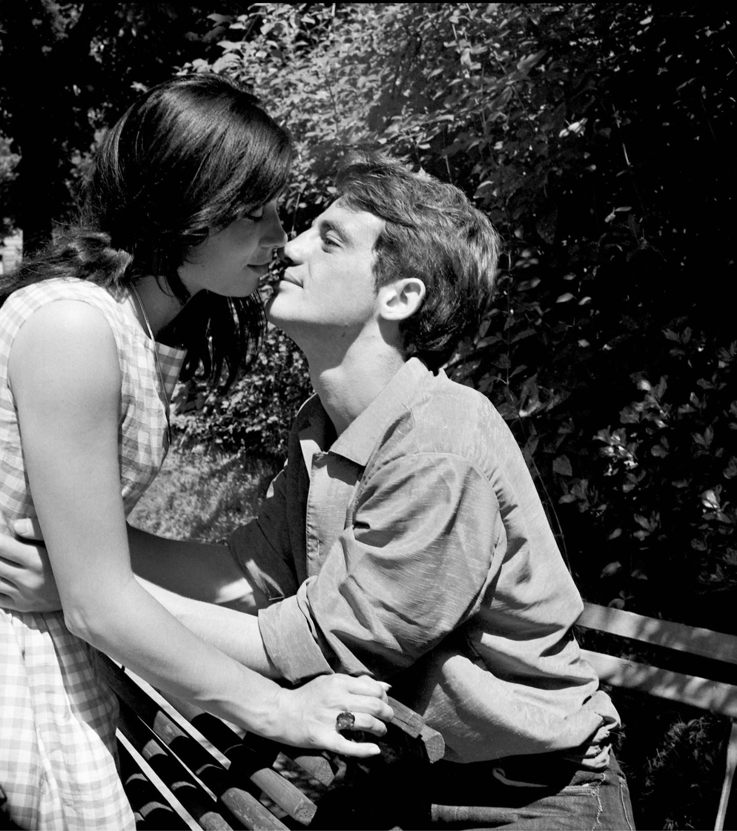 С женой Натти Тардивель.Париж, 1959