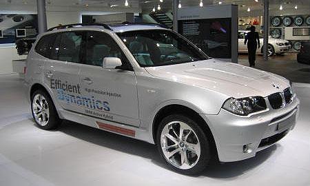 BMW Concept X3 EfficientDynamics