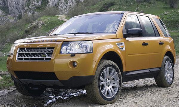 Продажи Land Rover и Jaguar в России в 2008 году существенно увеличились