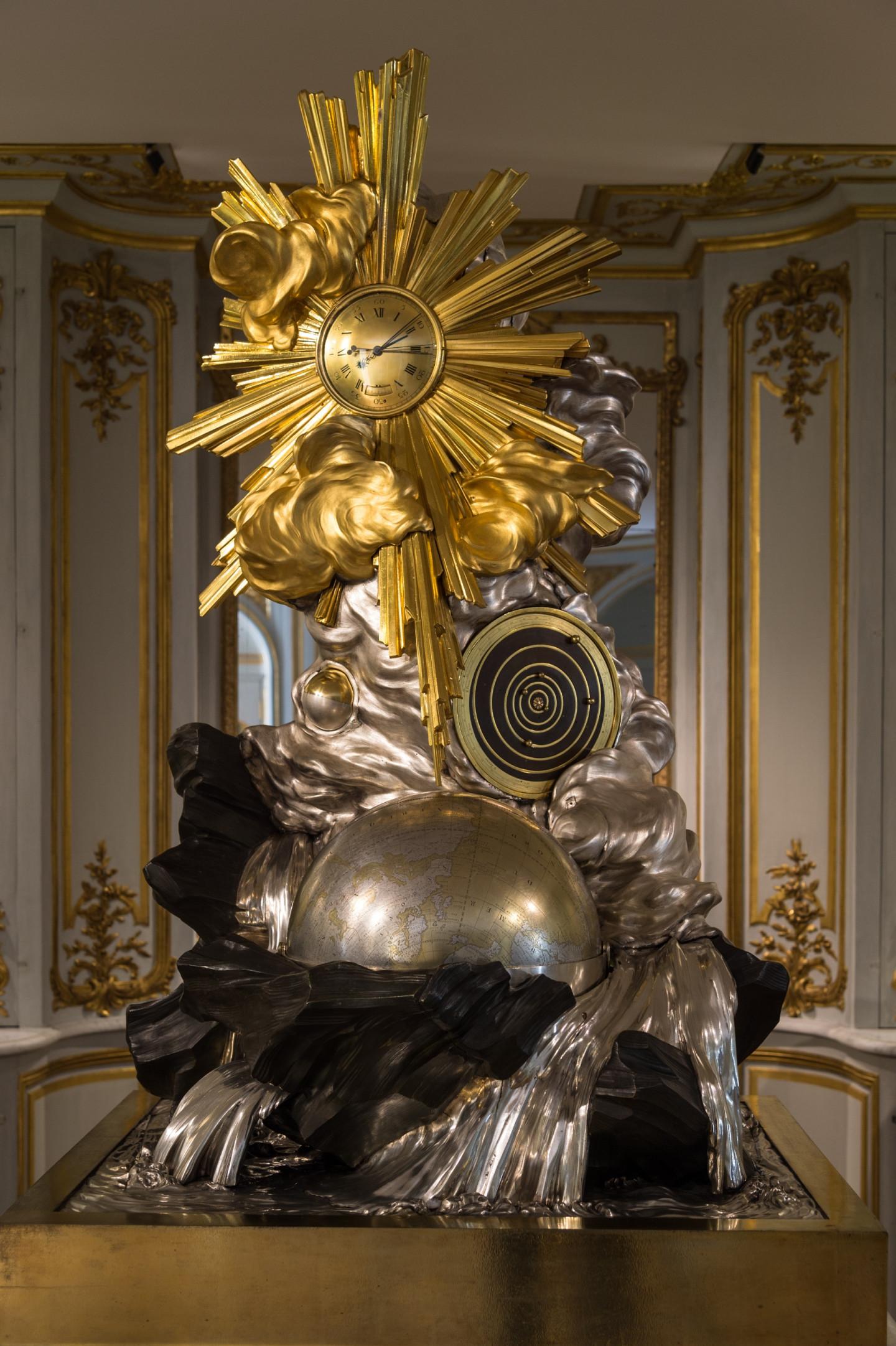 Часы La Création du Monde,XVIII век