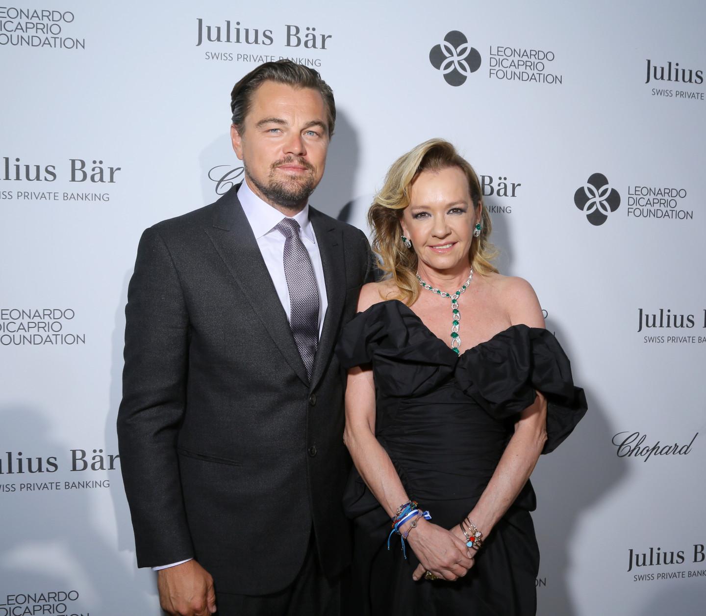 Леонардо Ди Каприо и Каролина Шойфеле наблаготворительном гала-ужине Leonardo DiCaprio Foundation, 20 июля состоявшемсяна яхте в Сен-Тропе