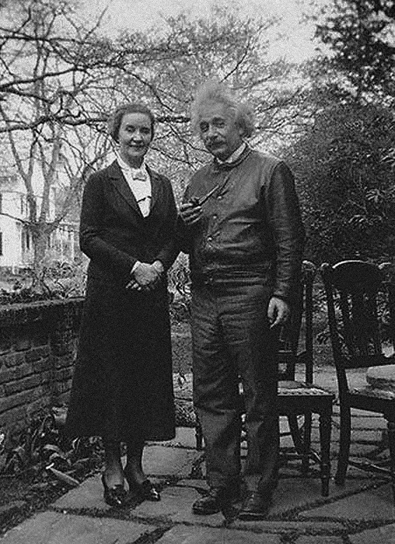 Маргарита Воронцова и Альберт Эйнштейн