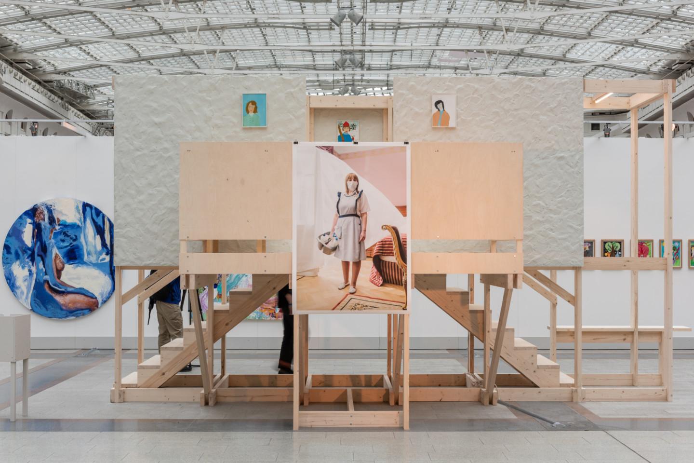 Инсталляция Екатерины Муромцевой