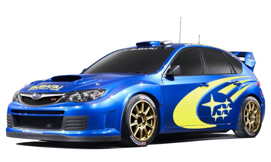 Концепт Subaru WRC Impreza