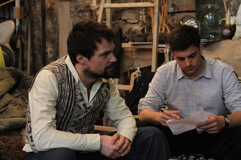Кадр из фильма «Довлатов»