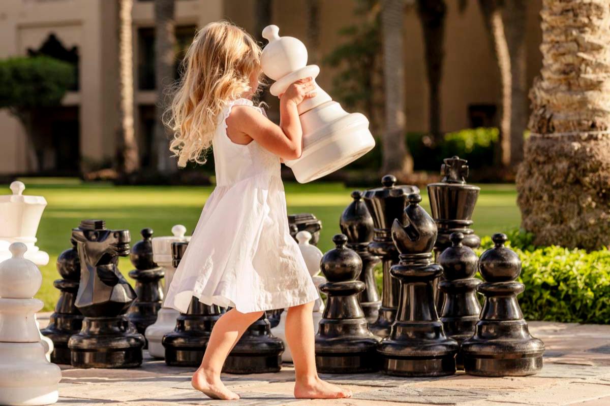 Детские активности в отеле One&Only Royal Mirage (Дубай)