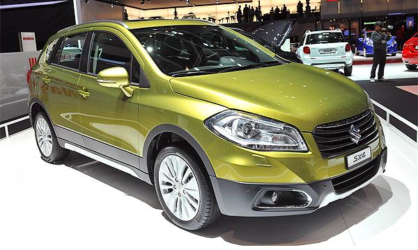 Стали известны рублевые цены нового Suzuki SX4