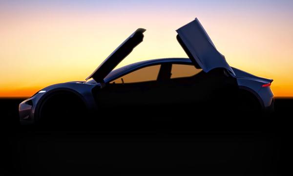 Хенрик Фискер опубликовал первое изображение нового спорткара