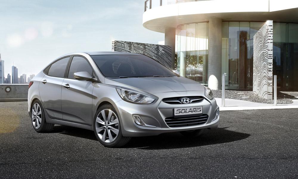В России стартовали продажи Hyundai Solaris