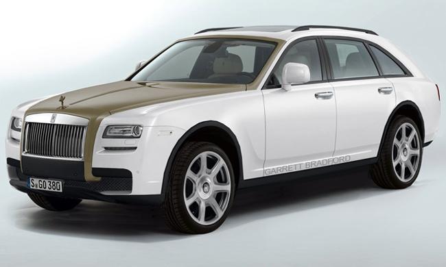 Rolls-Royce может выпустить внедорожник