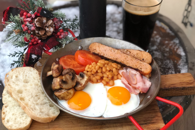 Традиционный ирландский «похмельный» завтрак