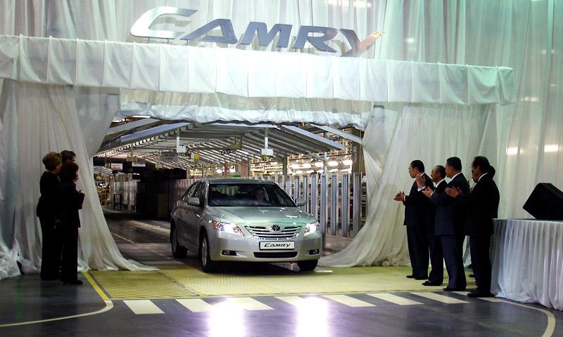 Первая Camry сошла с конвейера