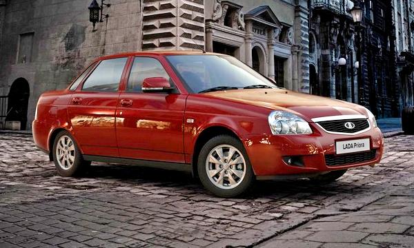АвтоВАЗ представил фотографии обновленной Lada Priora