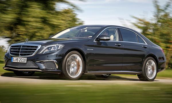 Mercedes-Benz рассекретил новый S65 AMG