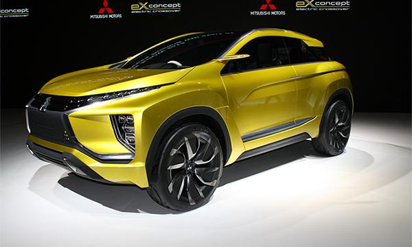 Электрический кроссовер Mitsubishi eX Concept получит серийную версию