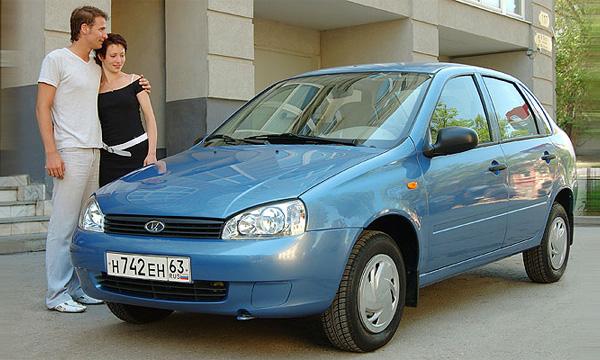 Седан Lada Kalina получил новый 1,6-литровый двигатель