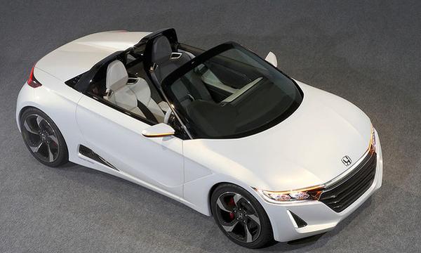 Honda покажет компактный родстер