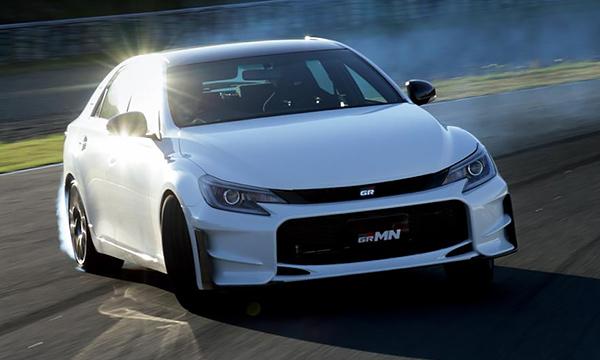 Toyota рассекретила специальную версию Mark X