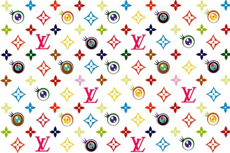 Дизайн принта для Louis Vuitton от Такаси Мураками