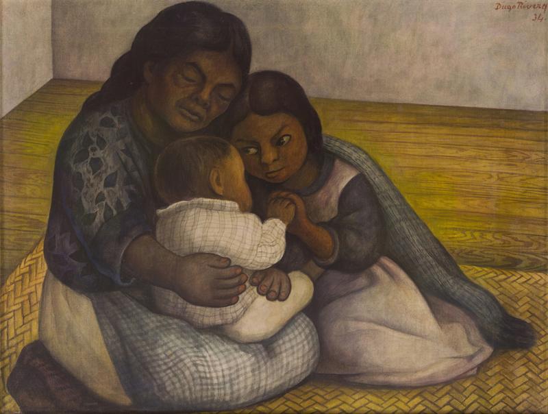 Диего Ривера. «Семья», 1934.