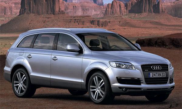Audi собрала 3 тысячи заказов на внедорожник Q7