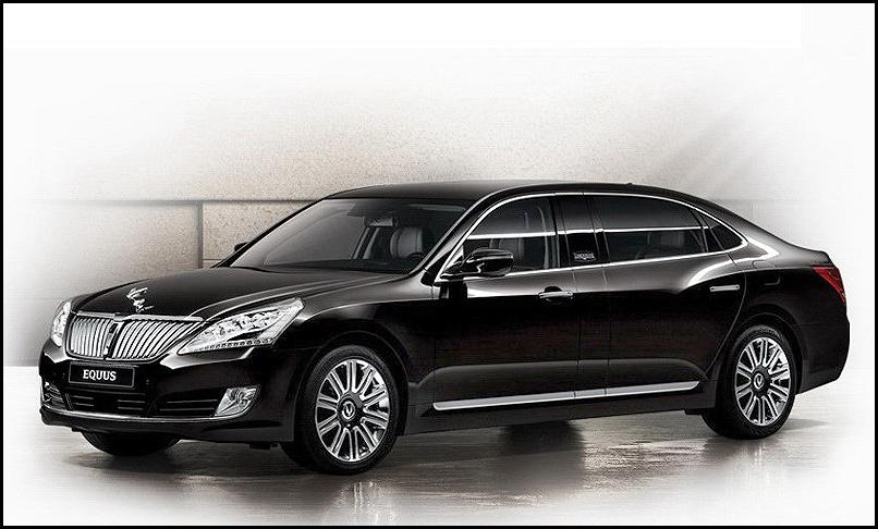 Hyundai Equus боится конкуренции с KIA Quoris