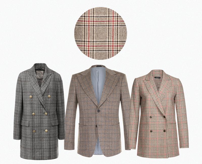 Мужское пальто Brunello Cucinelli (ЦУМ) ₽292 000 Мужской пиджак Giorgio Armani (Третьяковский проезд) ₽199 500 Женский жакет Vassa₽24 500