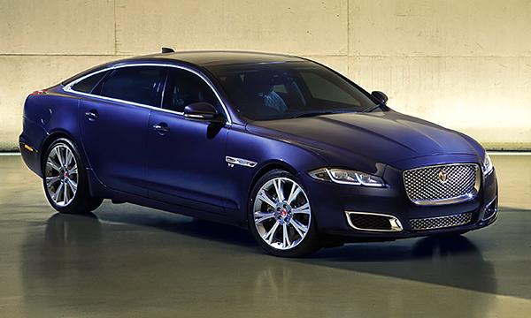 Jaguar назвал российские цены на обновленный XJ