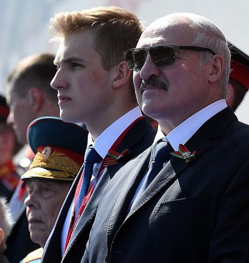 На параде Победы, Москва, 2020