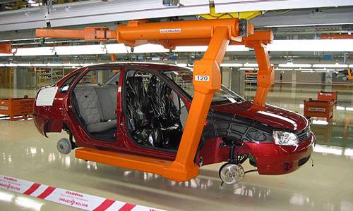 АвтоВАЗ на 3 дня останавливал производство в Тольятти