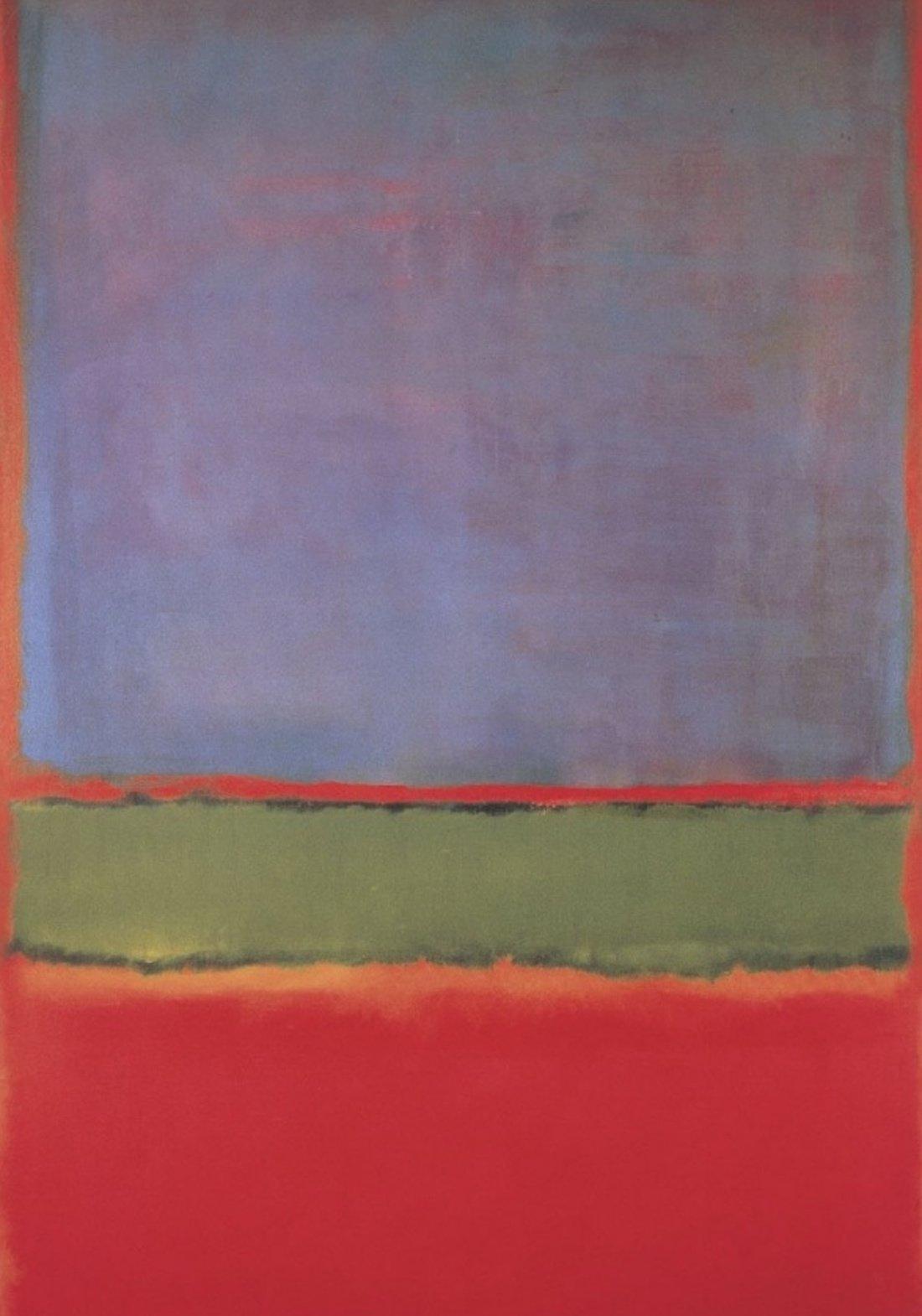 Марк Ротко, «No 6 (Фиолетовое, зеленое и красное)»