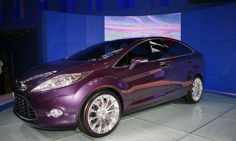 Ford показал седан Verve в Китае